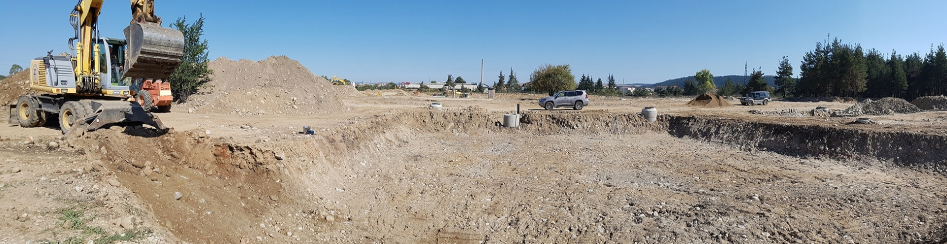 Start of the construction of the residential area of ​​the complex SamElion